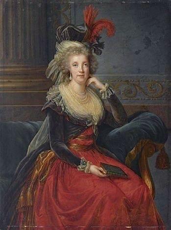 Portraits de Marie Caroline d'Autriche, reine de Naples et de Sicile Caro_d10