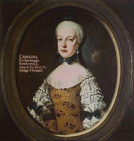 Portraits de Marie Caroline d'Autriche, reine de Naples et de Sicile Cff03510