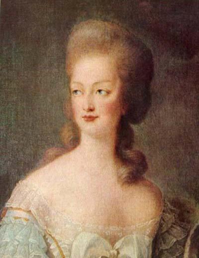 Portrait de Marie-Antoinette en buste par Vigée Le Brun (1781) Cmarie10
