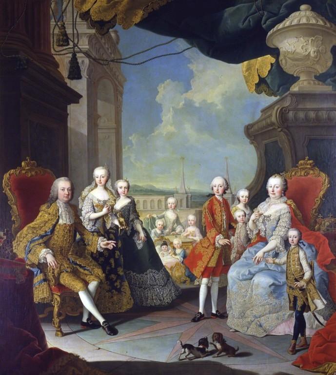 Portraits de l'archiduchesse Marie-Josèphe Displa10