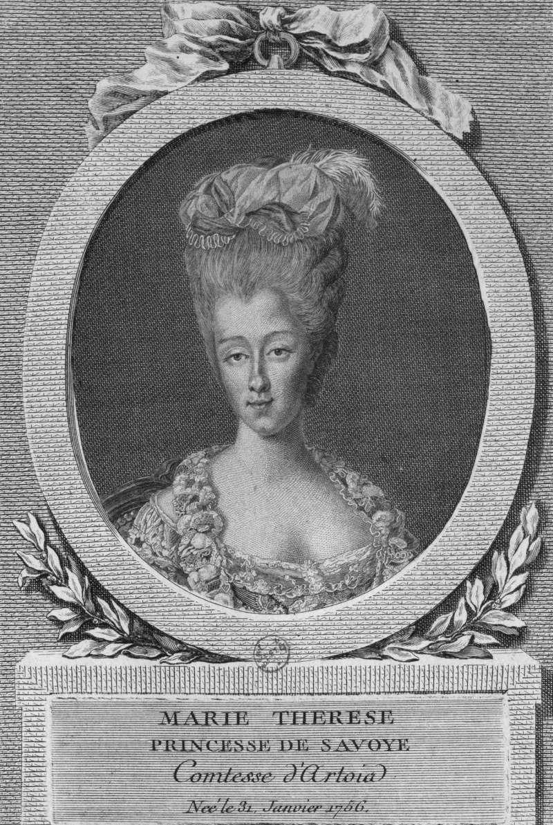 Marie-Thérèse de Savoie, comtesse d'Artois - Page 2 Engrav10