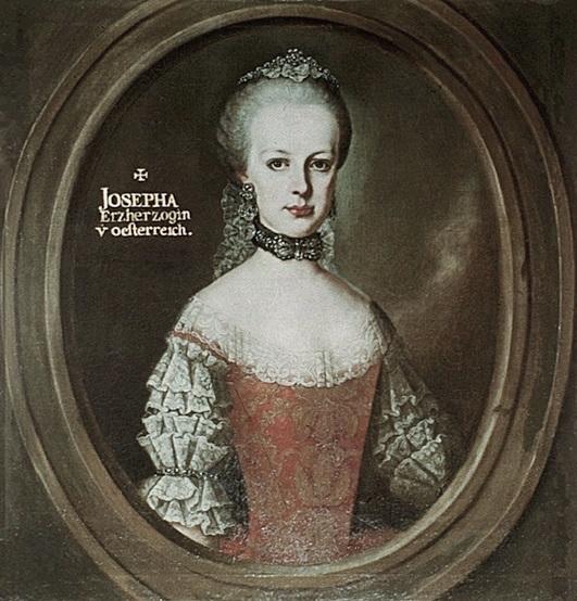 Portraits de l'archiduchesse Marie-Josèphe Erzher11