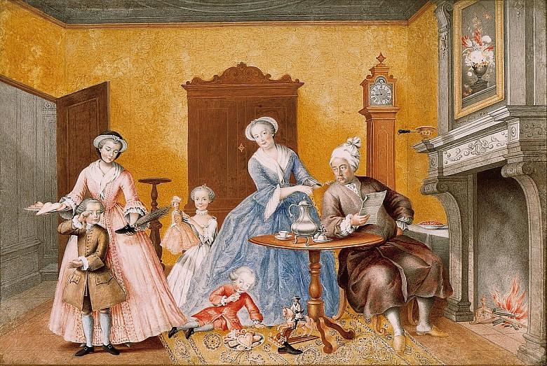 Dessins et aquarelles de Marie-Christine de Habsbourg Lorraine, soeur de Marie-Antoinette Erzher13