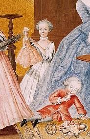 Dessins et aquarelles de Marie-Christine de Habsbourg Lorraine, soeur de Marie-Antoinette Erzher14
