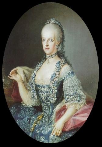 Portraits de Marie Caroline d'Autriche, reine de Naples et de Sicile France12