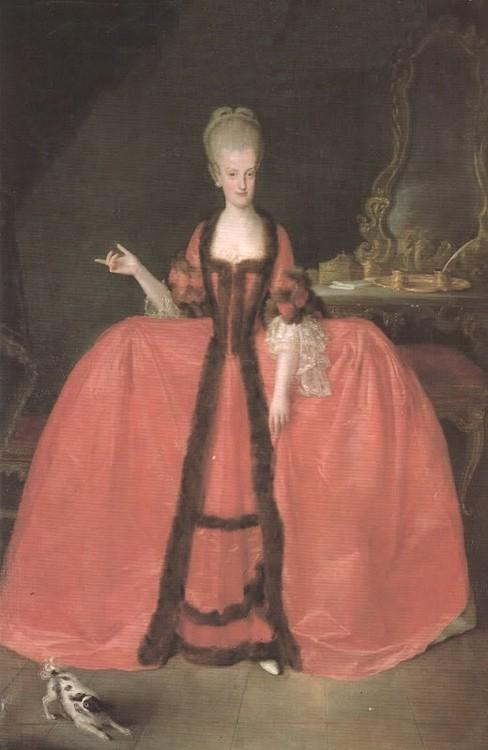 Portraits de Marie Caroline d'Autriche, reine de Naples et de Sicile France13
