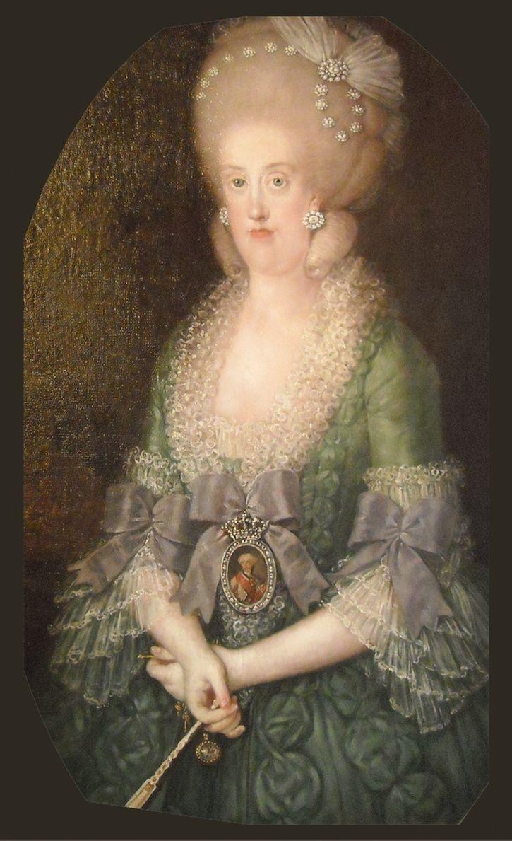 Portraits de Marie Caroline d'Autriche, reine de Naples et de Sicile France16
