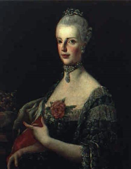 Portraits de Marie Caroline d'Autriche, reine de Naples et de Sicile France17