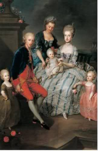 Portraits de Marie Caroline d'Autriche, reine de Naples et de Sicile Franz_10