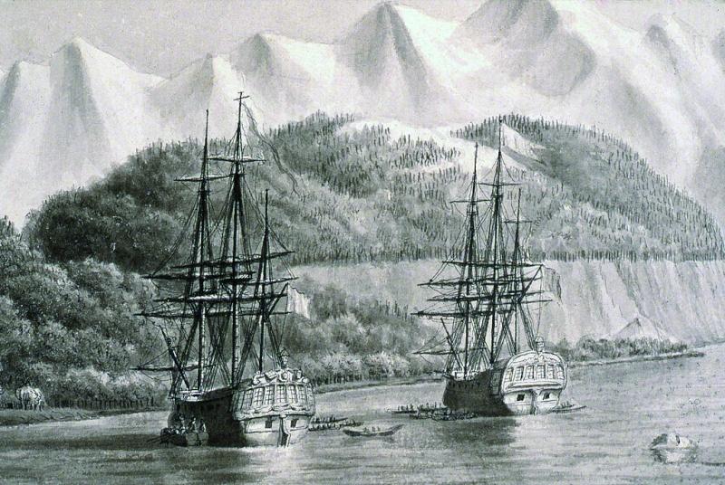 Jean-François de la Pérouse et l'expédition Lapérouse Frygat10