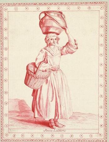 Dessins et aquarelles de Marie-Christine de Habsbourg Lorraine, soeur de Marie-Antoinette Images11