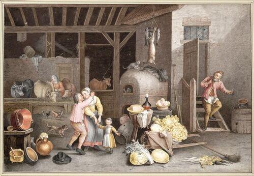 Dessins et aquarelles de Marie-Christine de Habsbourg Lorraine, soeur de Marie-Antoinette Images12