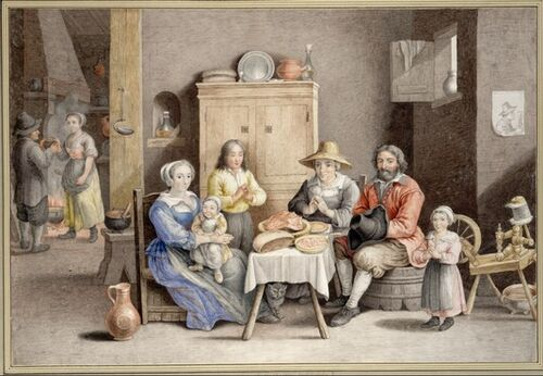 Dessins et aquarelles de Marie-Christine de Habsbourg Lorraine, soeur de Marie-Antoinette Images14