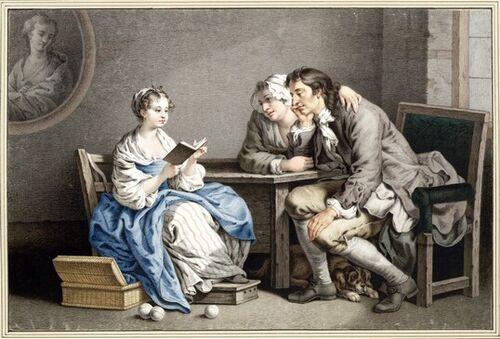 Dessins et aquarelles de Marie-Christine de Habsbourg Lorraine, soeur de Marie-Antoinette Images15