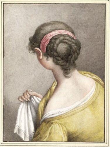 Dessins et aquarelles de Marie-Christine de Habsbourg Lorraine, soeur de Marie-Antoinette Images17