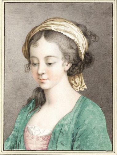 Dessins et aquarelles de Marie-Christine de Habsbourg Lorraine, soeur de Marie-Antoinette Images18