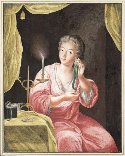 Dessins et aquarelles de Marie-Christine de Habsbourg Lorraine, soeur de Marie-Antoinette Images19