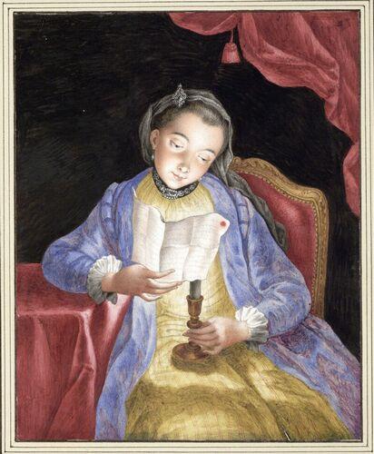 Dessins et aquarelles de Marie-Christine de Habsbourg Lorraine, soeur de Marie-Antoinette Images20
