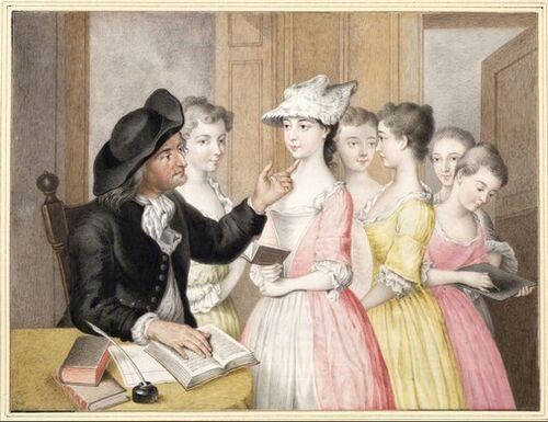 Dessins et aquarelles de Marie-Christine de Habsbourg Lorraine, soeur de Marie-Antoinette Images21