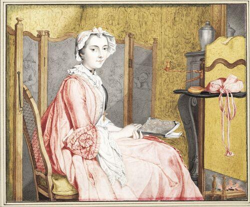 Dessins et aquarelles de Marie-Christine de Habsbourg Lorraine, soeur de Marie-Antoinette Images23