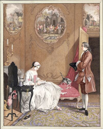 Dessins et aquarelles de Marie-Christine de Habsbourg Lorraine, soeur de Marie-Antoinette Images24