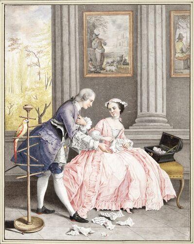 Dessins et aquarelles de Marie-Christine de Habsbourg Lorraine, soeur de Marie-Antoinette Images25
