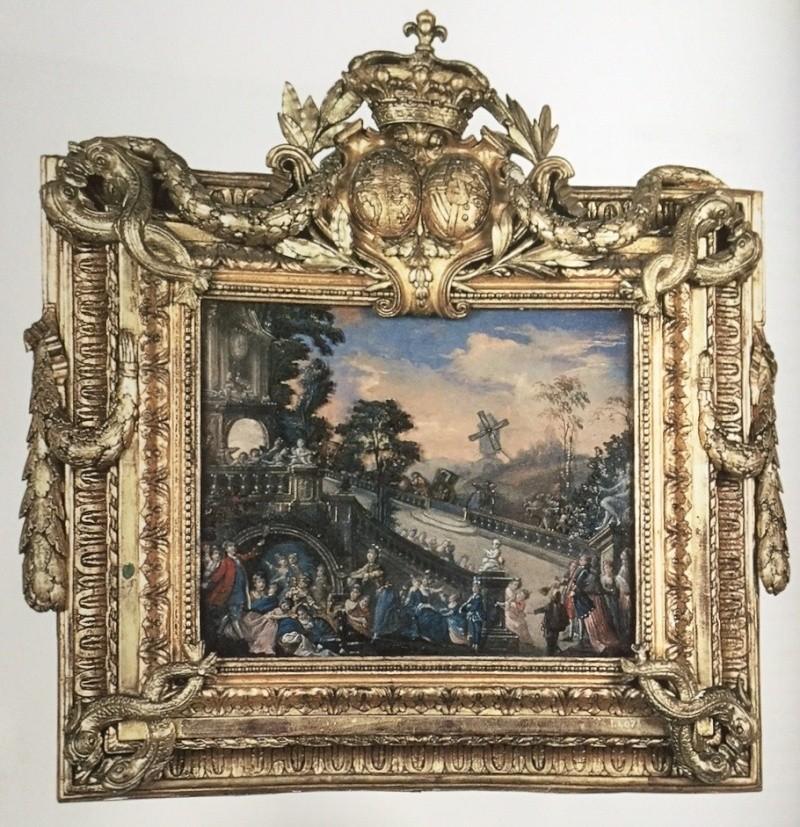 Tableau automate, ou animé, de Marie-Antoinette