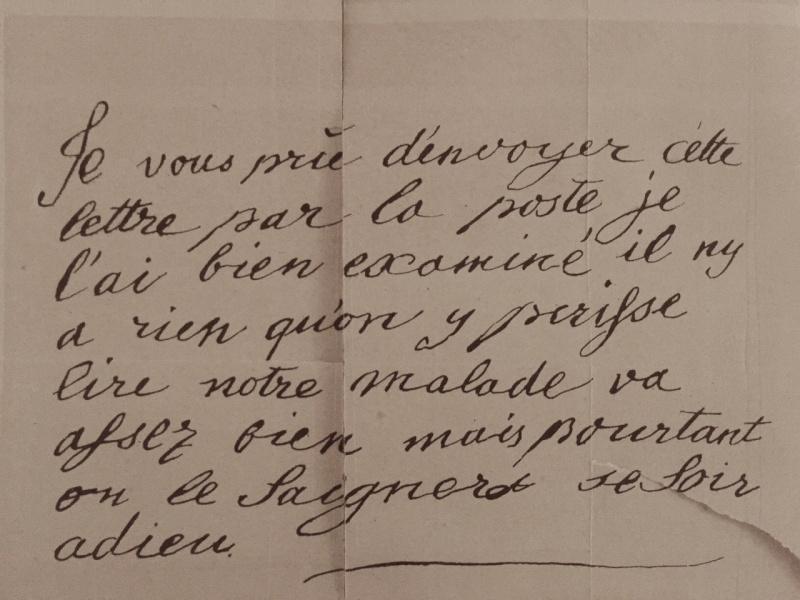 Mot de Marie Antoinette à sa femme de chambre. 19 avril 1770 Img_6911