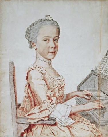 Portraits de l'archiduchesse Marie-Josèphe Jean-e10