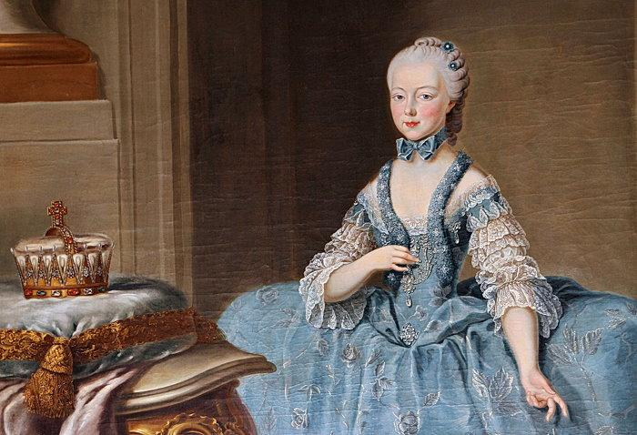 Portraits de Marie Caroline d'Autriche, reine de Naples et de Sicile Joanna10