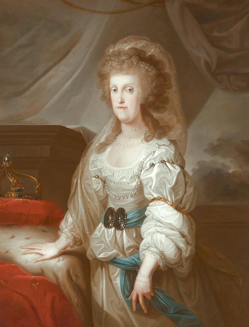 Portraits de Marie Caroline d'Autriche, reine de Naples et de Sicile Johann13