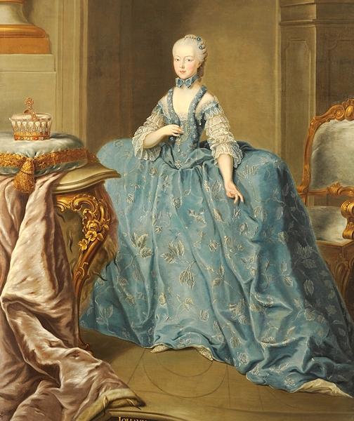 Portraits de Marie Caroline d'Autriche, reine de Naples et de Sicile Johann14