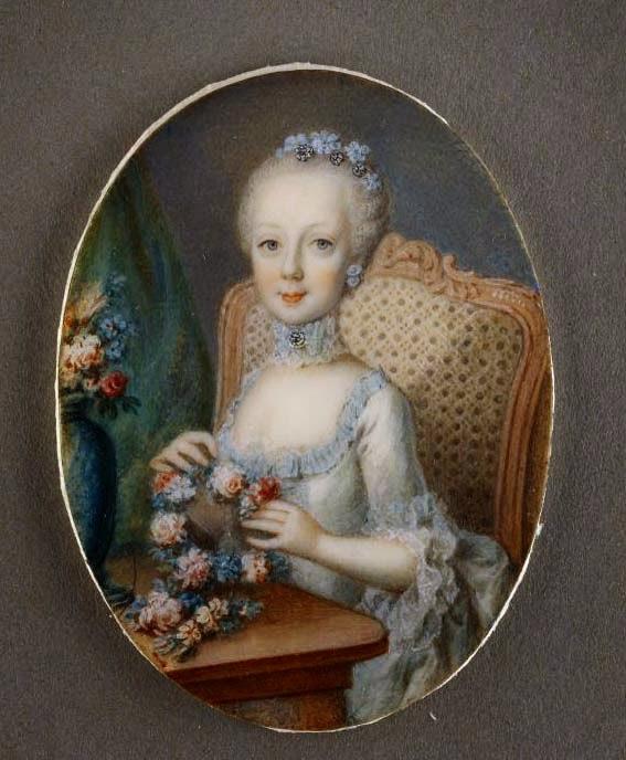 Portraits de l'archiduchesse Marie-Josèphe Joseph10