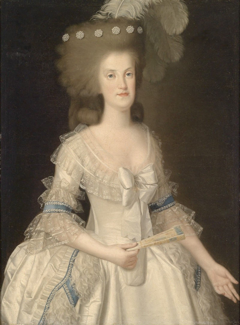 Portraits de Marie Caroline d'Autriche, reine de Naples et de Sicile Kanigi10