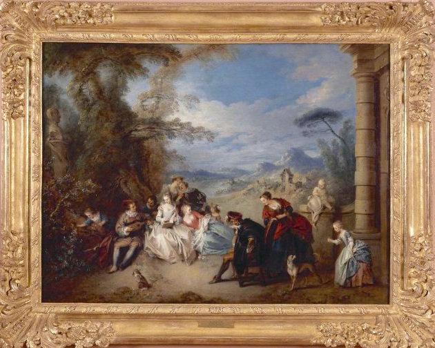 """Exposition """"Rêveries italiennes"""", Musée des Beaux-Arts de Valenciennes Le_con10"""