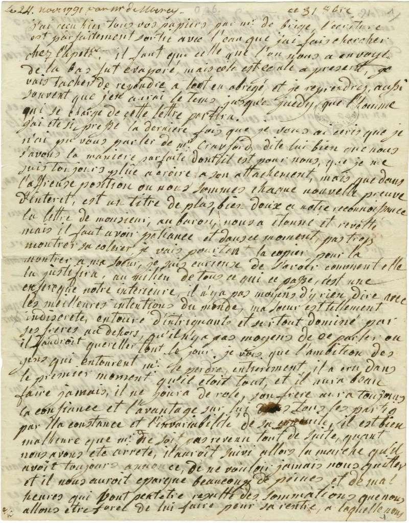 Lettres autographes de Marie-Antoinette à Fersen conservées aux A.N Lette_11