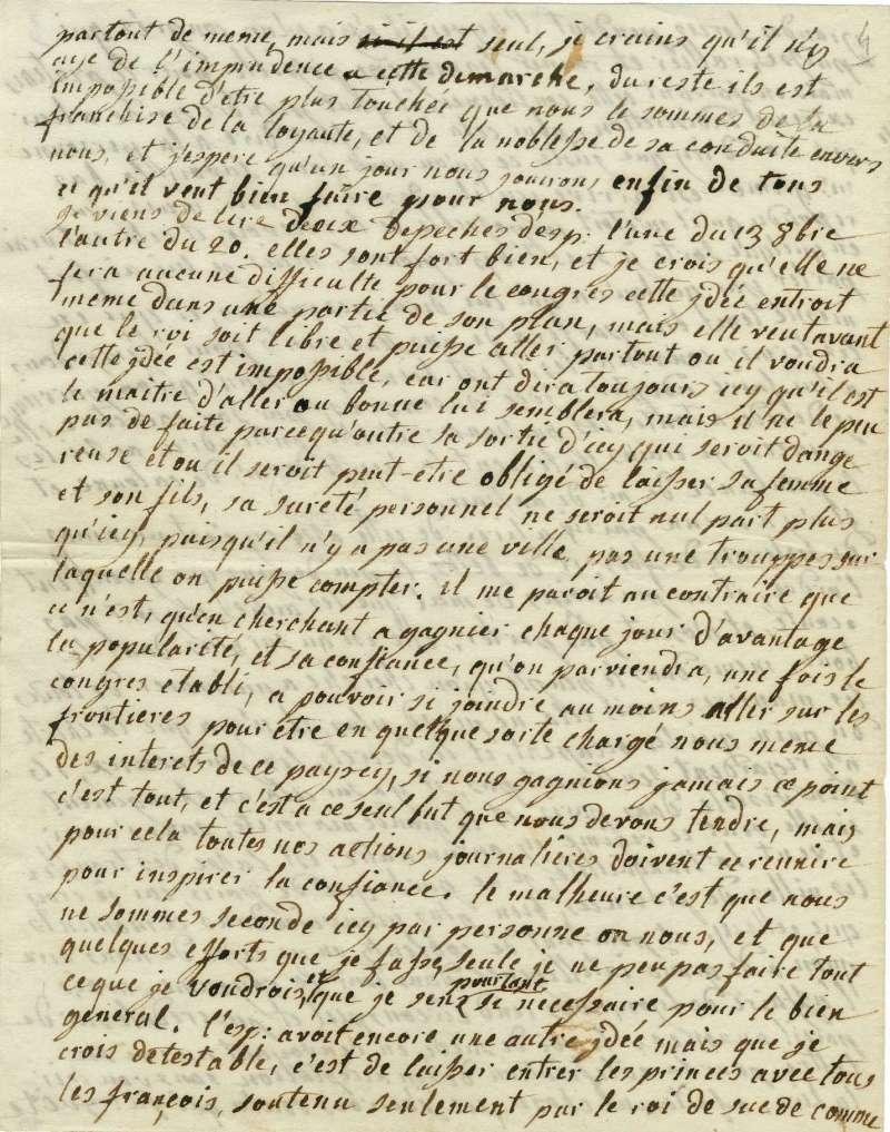 Lettres autographes de Marie-Antoinette à Fersen conservées aux A.N Lette_14