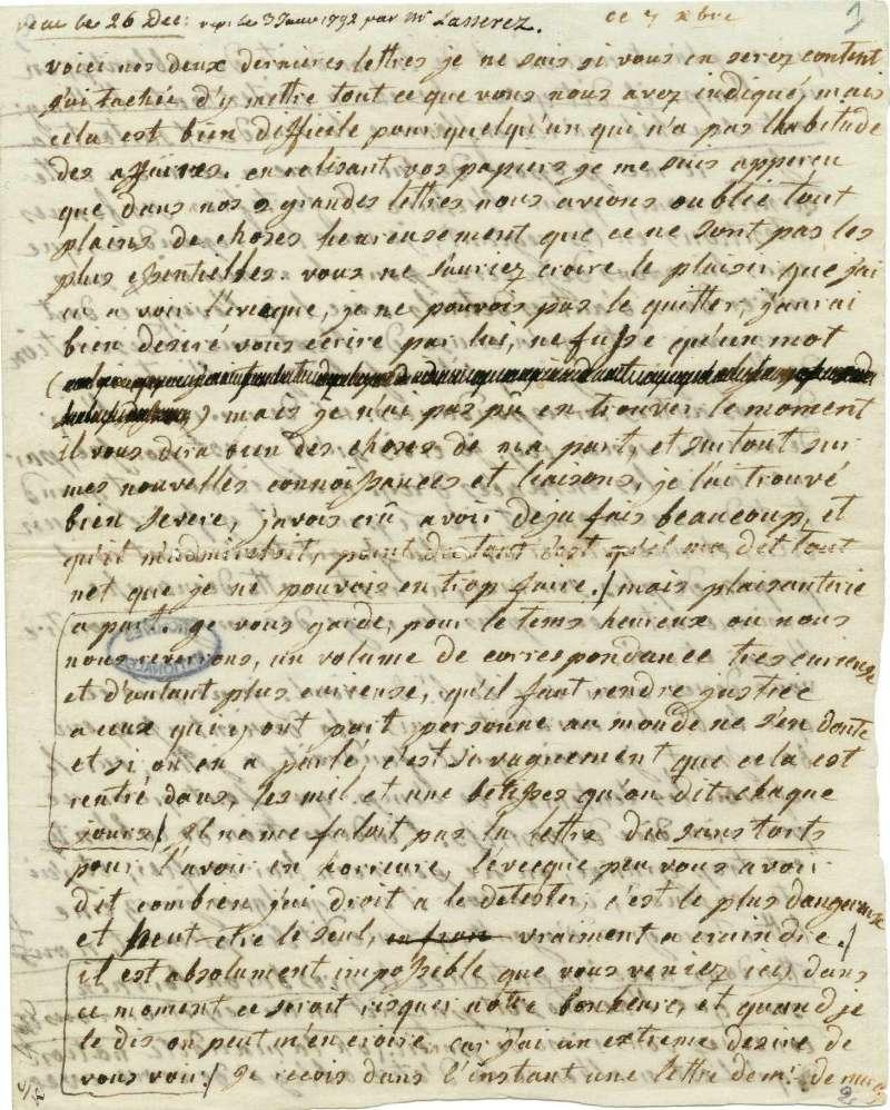 Lettres autographes de Marie-Antoinette à Fersen conservées aux A.N Lette_20