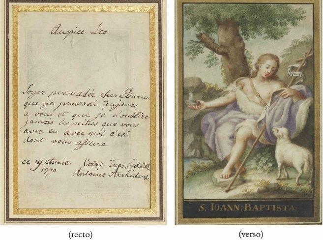 Mot de Marie Antoinette à sa femme de chambre. 19 avril 1770 Lettre11