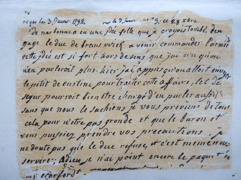 Lettres autographes de Marie-Antoinette à Fersen conservées aux A.N Lettre29