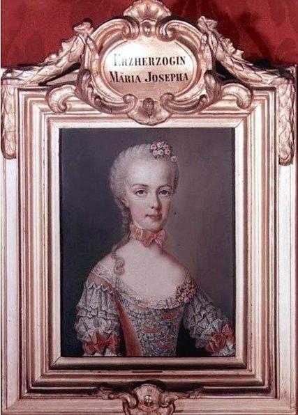 Portraits de l'archiduchesse Marie-Josèphe Liotar11
