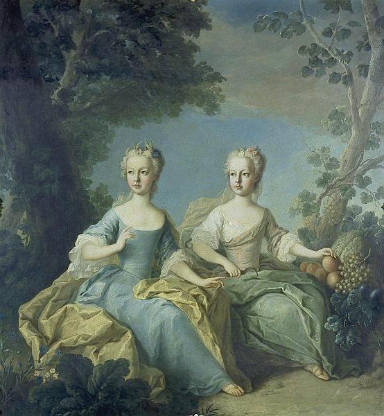 Portraits de l'archiduchesse Marie-Josèphe M_anto13