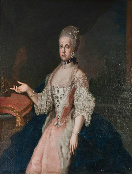 Portraits de Marie Caroline d'Autriche, reine de Naples et de Sicile Maria_12