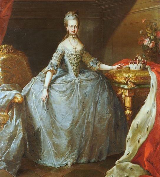 Josèphe - Portrait de Marie-Antoinette ou de Marie-Josèphe, par Meytens ? - Page 2 Maria_16