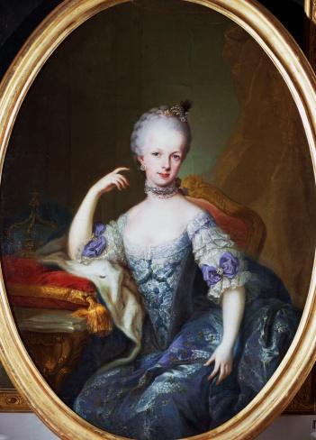 Portraits de l'archiduchesse Marie-Josèphe Maria_22