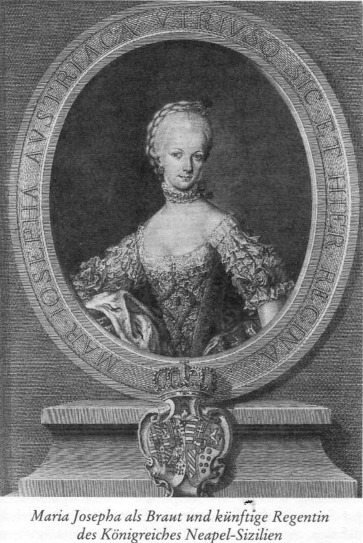 Portraits de l'archiduchesse Marie-Josèphe Mariaj11