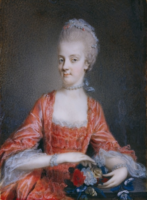 Portraits de Marie Caroline d'Autriche, reine de Naples et de Sicile Marie-10