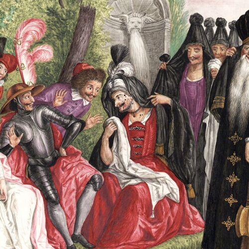 Dessins et aquarelles de Marie-Christine de Habsbourg Lorraine, soeur de Marie-Antoinette Marie102