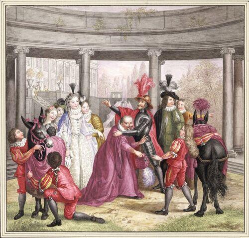 Dessins et aquarelles de Marie-Christine de Habsbourg Lorraine, soeur de Marie-Antoinette Marie104