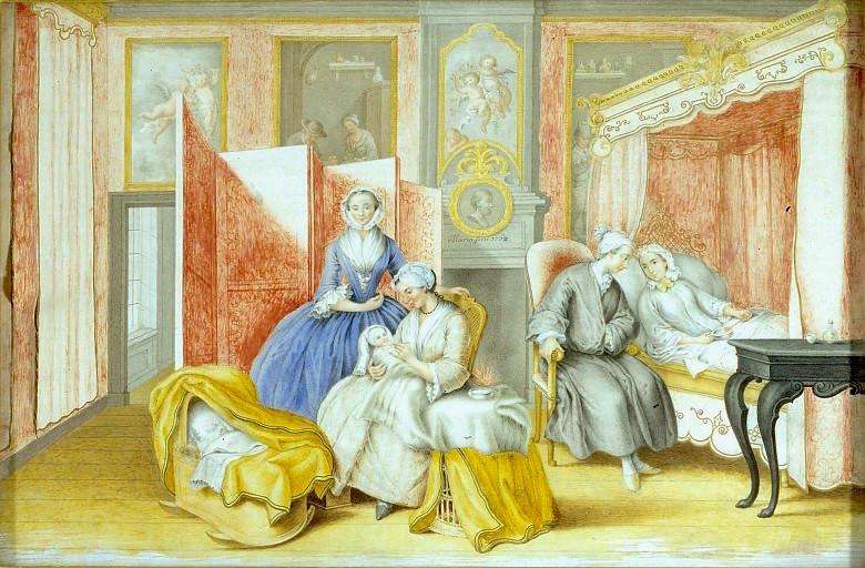 Dessins et aquarelles de Marie-Christine de Habsbourg Lorraine, soeur de Marie-Antoinette Marie107